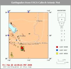 a research on earthquake patterns in the united states Beyond its research and academic commitments, ceri is a huge point of pride for our university, city, and the central and eastern united states regions because of its long-time efforts in earthquake monitoring and service to the community.