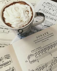 Music is wonderful, but all I know is that I love hot chocolate with whipped cream almost as much as I love Beethoven. . . . . . #pianomusic #instapiano #pianoforte #pianoplayer #pianoman #pianist #pianolover #pianolove #pianista #pianogirl #pianocover #pianos #pianobar #pianosolo #practicemakesprogress #musicblogger #musicblog #musicianlife #musiclove #musiclovers #musiclover #musicforlife #classicalmusic #composer #composerlife #music #classicalmusician #composers #practicepractice #cho...