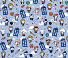 Doctor Who Fabric