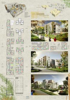 Architectes : Air Architectes, Lacrouts et Massicault, Devillers Mise en page cimaises A0 concours.