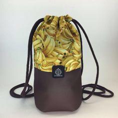 Kong Bag - 2016  eco-leather and fabric, handmade 26cm*36,5cm