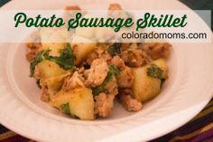 Potato Sausage Skillet | Coloradomoms.com #dinner #recipe