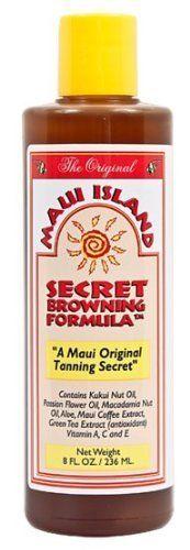 Maui Island Secret Browning Formula 8 Oz., http://www.amazon.com/dp/B003YQ04KS/ref=cm_sw_r_pi_awdl_gcnavb1MFJHXZ