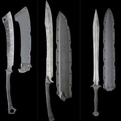 Wow - which one would you pick?   Buy knives at www.megaknife.com #outdoor #knives #camping #hunting