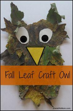 Leaf Craft Owl