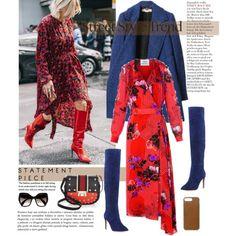 286. Winter Street Style by milva-bg on Polyvore featuring moda, STELLA McCARTNEY, Joie, Kate Spade, Native Union and Prada