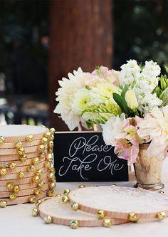 DIY Lace Tambourines/Wedding Favors