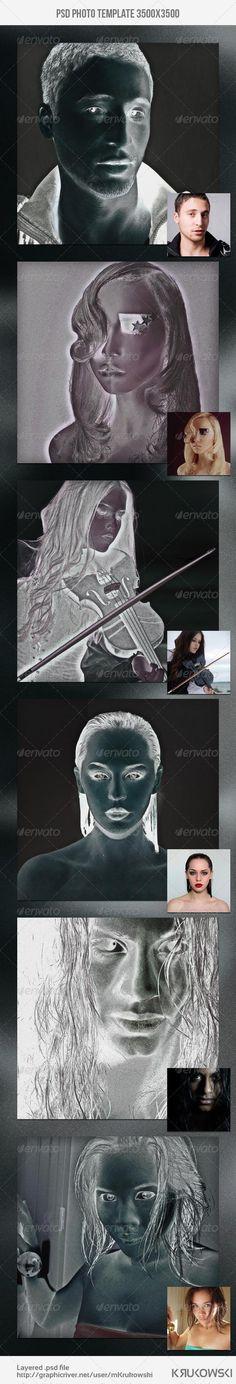 Negative Photo Template