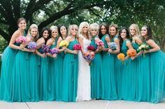 vestidos de madrinha azul tiffany