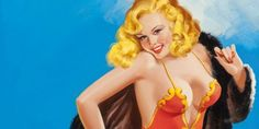The History Of The Pin-Up Girl, From The 1800s To The Present
