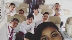 From @o_dinary.girl -  When you have set of funny crews 4 sectors is not that long day.. KUL-PEN-SIN-PEN-KUL.. #canyouspot2snyinthisflight? #4sectors @fxlvxirx #crewiser - #avgeek #instacrewiser #crewiser