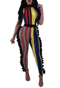 WSPLYSPJY Womens Tie Dye Spaghetti Strap High Split Jumpsuit Romper