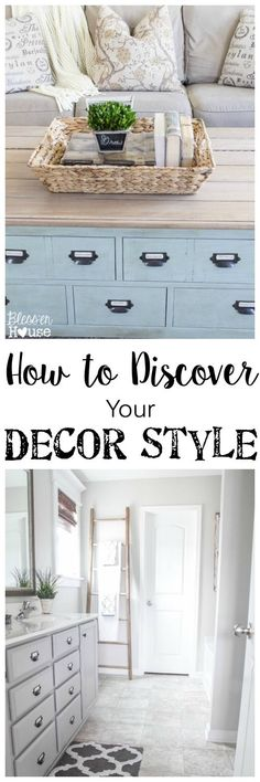 """How to Discover Your Decor Style   Bless'er House - 5 questions you should ask yourself to figure out what's """"you""""."""