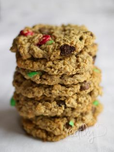 Irresistibly Healthy Oatmeal Cookies