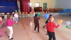 Ισορροπώ το μπαλόνι στην κορίνα