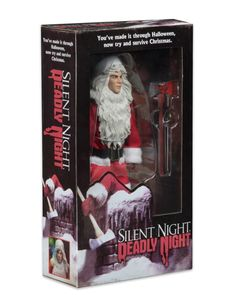 """BILLY CHAPMAN Neca SILENT NIGHT DEADLY NIGHT Clothed 8/"""" INCH 2018 FIGURE"""