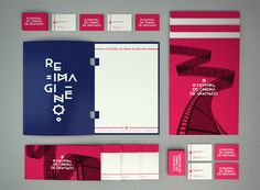 Festival de Cinema de Gramado by Pedro Veneziano, via Behance