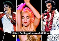 The 10 Best Selling Albums Songs in History What best selling albums are most beloved by Americans? If we're talking quantitatively, it's a virtual tie between Eagles Greatest Hits and Thriller. According to the RIAA, these are the best selling albums in American history.