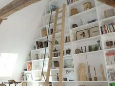 Mur tag re on pinterest billy bookcases ikea billy bookcase and home libr - Faire etagere placard ...