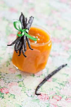 Mango, Peach and Vanilla Jam   DELICIOUS!!!!