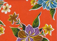 threads and snippets: in love with mexican oilcloth