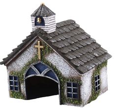 Church Shaped Toad House