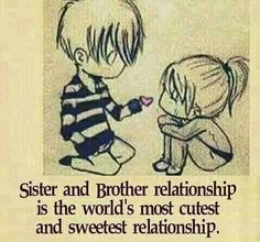 """""""Sisters and Brothers are god's way of saying, thought you could use a lifelong friend."""" Tag-mention-share with your Brother and Sister 💜💚💙👍 Brother N Sister Quotes, Brother And Sister Relationship, Brother Birthday Quotes, Sister Quotes Funny, Brother And Sister Love, Your Brother, Funny Quotes, Bro Quotes, Brother Humor"""