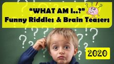 WHAT AM I? - FUNNY RIDDLES & BRAIN TEASERS || 2020 || ROCKCIMBERS Riddle Puzzles, What Am I Riddles, Emoji Quiz, Funny Riddles, The Odd Ones Out, Brain Training Games, Right Brain, Fun Quizzes, Problem Solving Skills