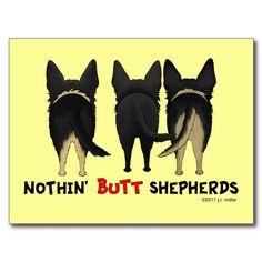 Nothin' butt shepherds.