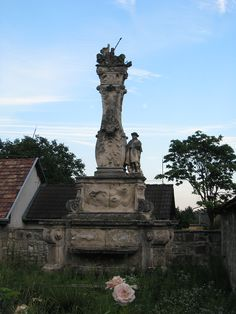 Pestis szobor (Immaculata) (Zsámbék) http://www.turabazis.hu/latnivalok_ismerteto_4813 #latnivalo #zsambek #turabazis #hungary #magyarorszag #travel #tura #turista #kirandulas