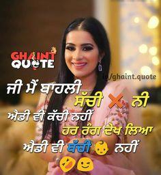 2233 Best full attitude      images in 2018 | Punjabi quotes