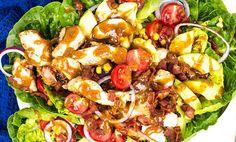Kyllingsalat med avokado og bacon (407 kcal) | EXTRA