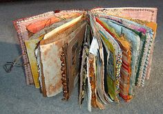 fabric journal!