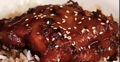 Honey and Garlic Chicken in a Slow Cooker Super Easy - Recipes - .- Honey and garlic chicken in slow cooker super easy – Recipes – My Fork - Slow Cooker Recipes, Crockpot Recipes, Cooking Recipes, Asian Chicken Recipes, Good Food, Yummy Food, Garlic Chicken, Slow Cooker Chicken, Turkey Recipes
