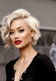 Haare Fab NYC Model You Are Big Brother Article Body: Remember Not the year, but the novel, wh Love Hair, Great Hair, Short Hairstyles For Women, Pretty Hairstyles, Medium Hair Styles, Curly Hair Styles, Corte Y Color, Hair Videos, Hairstyles Videos