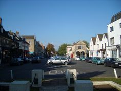 Downtown Witney, Oxfordshire