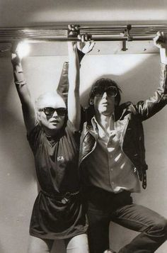Debbie Harry and Iggy Pop