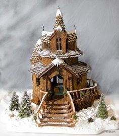 Photos of the National Gingerbread House Competition: Gingerbread - Grand Prize Winning Entry - 2006 Adult Category