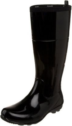 "Kamik Women's Naomi Rain Boot Kamik. $28.67. Platform measures approximately 1/2"" . Rubber sole. Comfort footbed. Boot opening measures approximately 14"" around. Synthetic rubber. Shaft measures approximately 13"" from arch. Waterproof and lightweight. Heel measures approximately 1"". Recyclable"