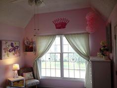 Mrs. Kansas Mommy: Pink and Green Toddler Room. Girl toddler room decor / girl nursery decor.