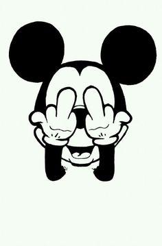 Rude Mickey