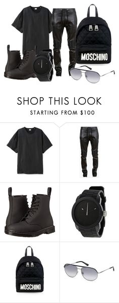 """""""Mens style 2: vidcon day 2"""" by mens-style ❤ liked on Polyvore featuring Balmain, Dr. Martens, Diesel, Moschino and Tod's"""