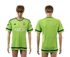 http://www.xjersey.com/201516-seattle-sounders-home-thailand-jersey.html 2015-16 SEATTLE SOUNDERS HOME THAILAND JERSEY Only $35.00 , Free Shipping!