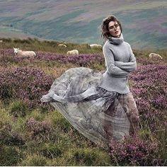 The beautiful @rozannapurcell for @irishcountrymag  @leemalonephotog #ireland #missireland #purplehaze #rusticireland #irishbeauty #fallfashion #autumnstyle #falllook #sweaterweather #flowingskirt #boho #bohemian #bohobabe #modelstyle #bohemianstyle #hippychic #style #fashion #irishstyle #heather #autumnfashion #fashion #lookoftheday #fashionaddict #streetstyle #stylish #boholux #bohochic #gypsy #woolyjumper #jumper