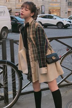 Japanese Outfits, Korean Outfits, Mode Outfits, Japanese Fashion, Fashion Outfits, Harajuku Fashion, Kawaii Fashion, Cute Fashion, Korean Girl Fashion