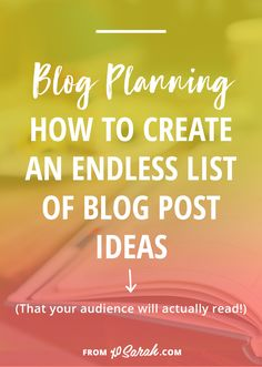 There's nothing worse than feeling guilty for not blogging because you don't know what to write about. Click for five ways to quickly generate more blog post ideas that your audience will actually be interested in reading. Every single one of these options is extra helpful because they'll continuously provide you with new blog-worthy material.
