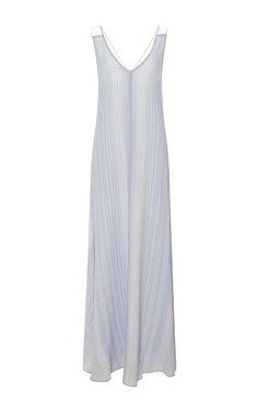 Puckered Silk-Blend Maxi Dress by Derek Lam 10 Crosby - Moda Operandi