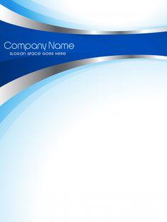 Brochure de l'entreprise vectorielle Vecteur gratuit Powerpoint Background Templates, Powerpoint Design Templates, Templates Free, Graphic Design Layouts, Brochure Design, Microsoft Word, Cover Page Template Word, Modele Flyer, Blue Company