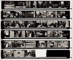 Contact Sheet I (2009)  From the series Shoulder to Shoulder.