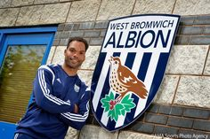 West Brom have signed Joleon Lescott on a free transfer 1.7.2014